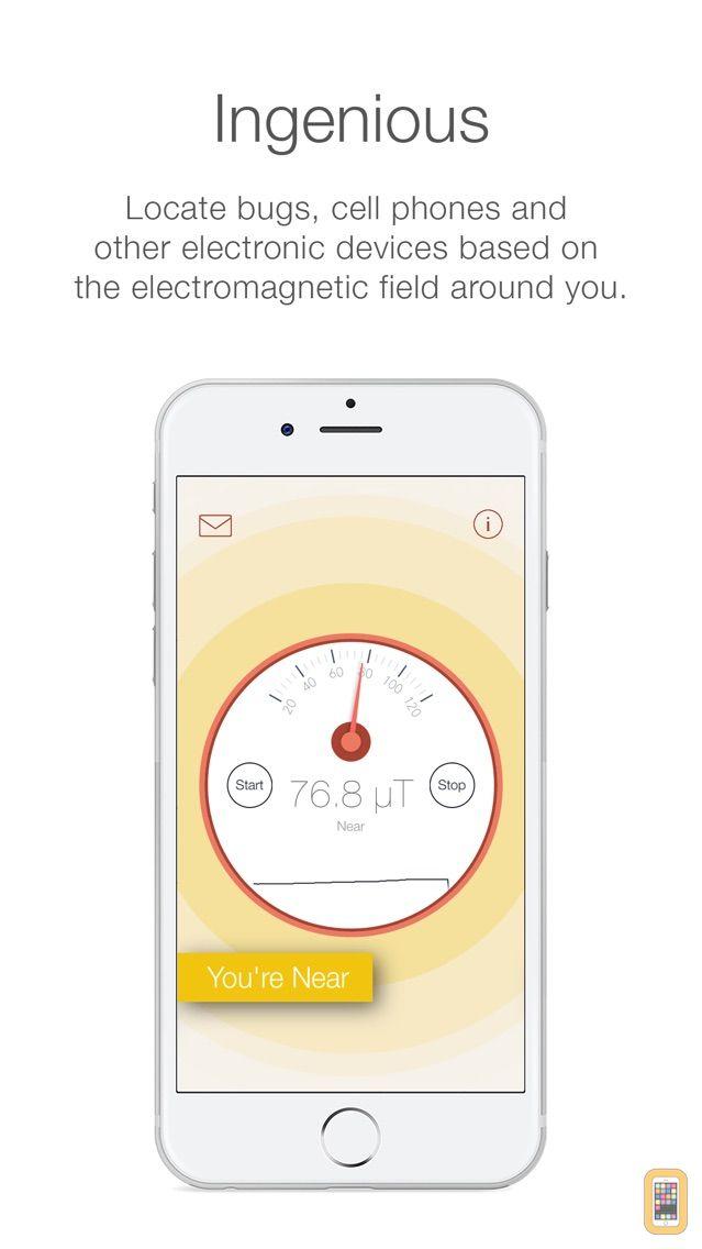 Screenshot - Spy Detector - Bug and Telephone Detector
