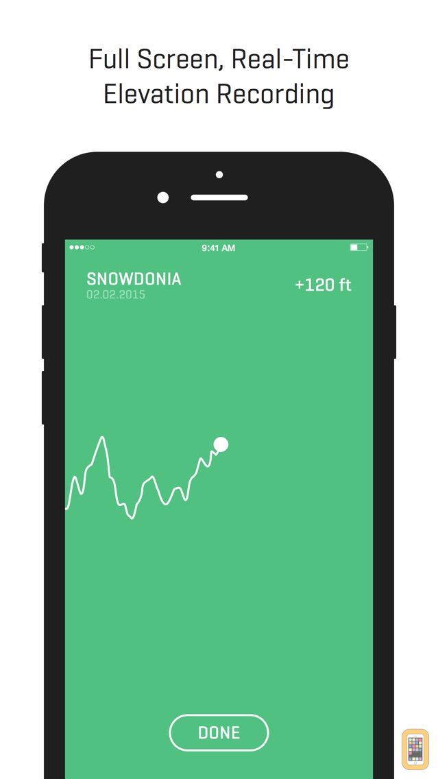 Screenshot - Ella - GPS Elevation Tracker