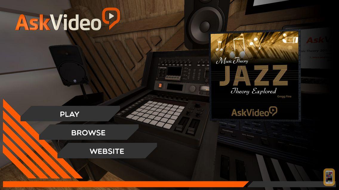 Screenshot - Jazz Theory Explored