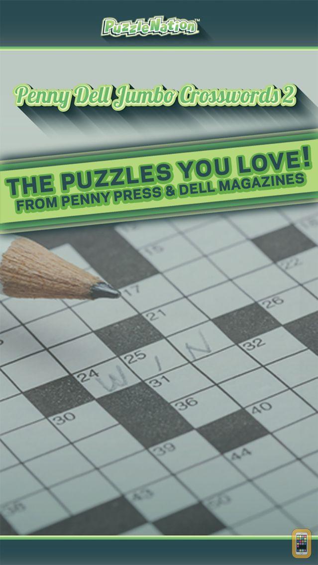 Screenshot - Penny Dell Jumbo Crosswords 2 – Crossword Puzzles for Everyone!