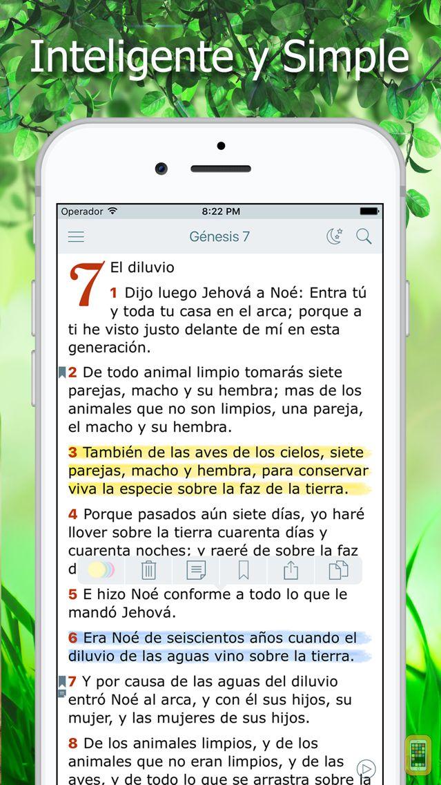 Screenshot - La Biblia Reina Valera Audio
