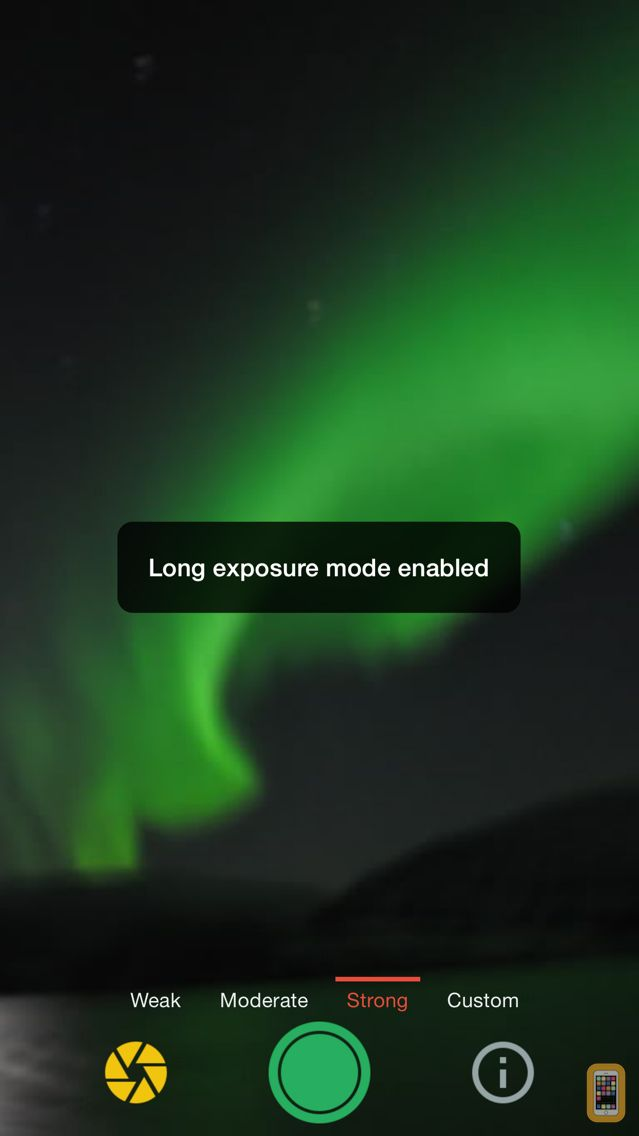 Screenshot - Northern Lights Photo Taker