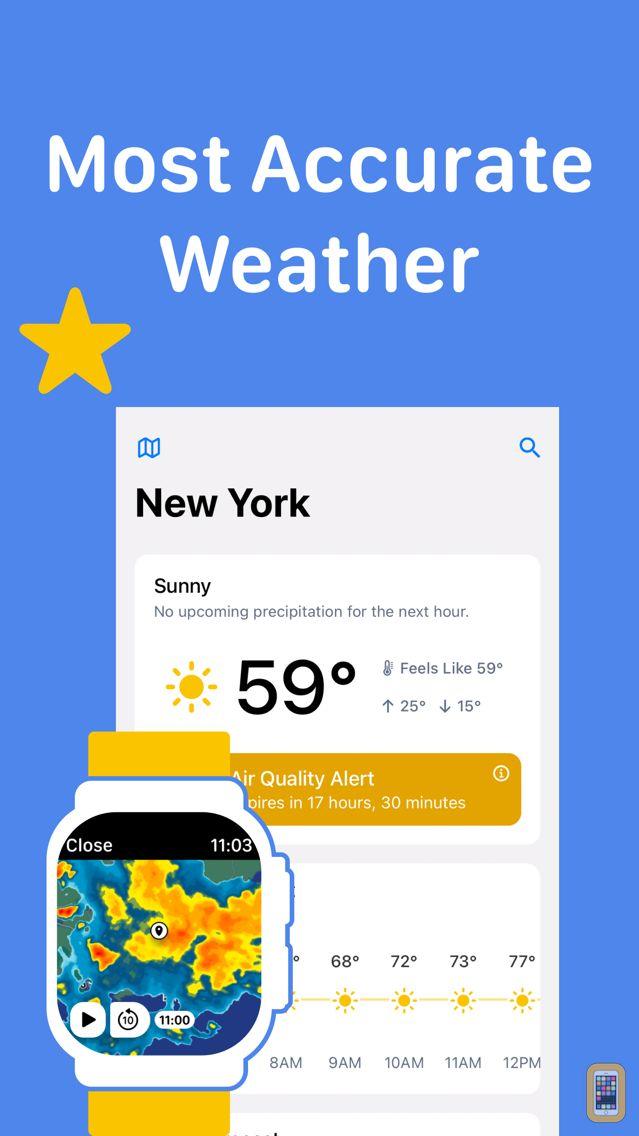 Screenshot - RainViewer: Weather Radar