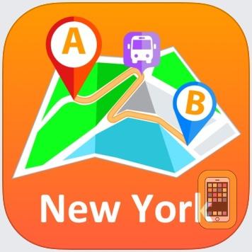 Iphone Map Of New York Offline.New York City Offline Map For Iphone Ipad App Info Stats