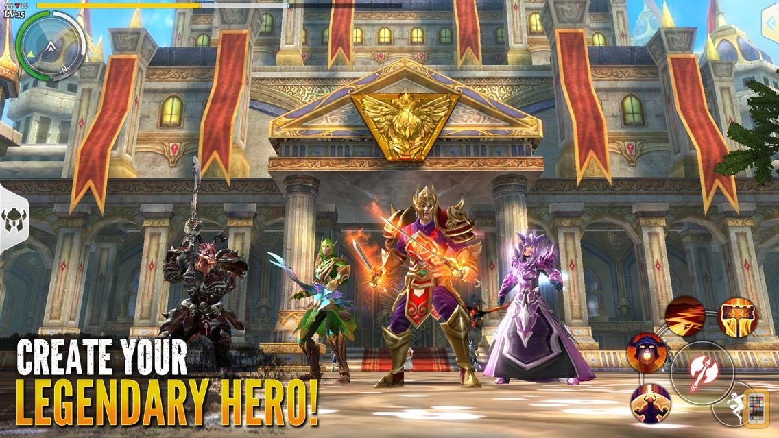 Screenshot - Order & Chaos 2-Fantasy MMORPG