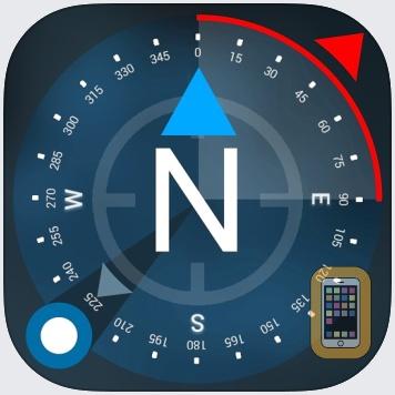 Compass GPS(Map, Weather) by Tigran Mkhitaryan (iPad)