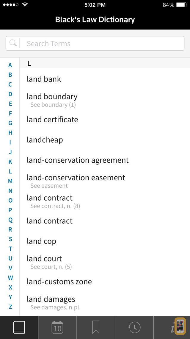 Screenshot - Black's Law Dictionary 10th Ed