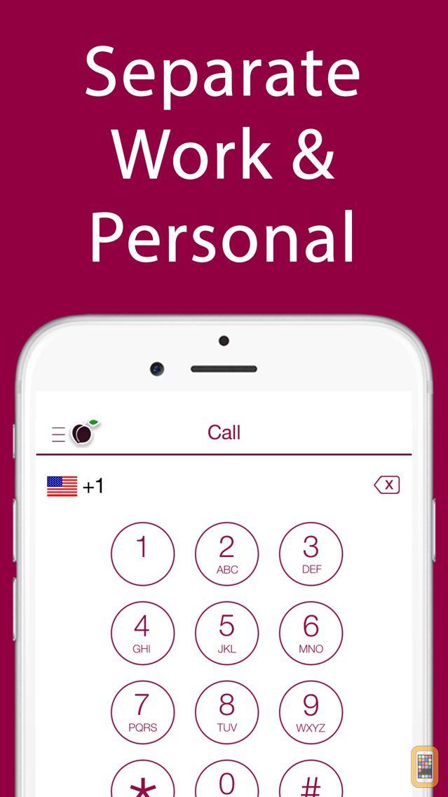 Screenshot - iPlum: 2nd Business Phone Line