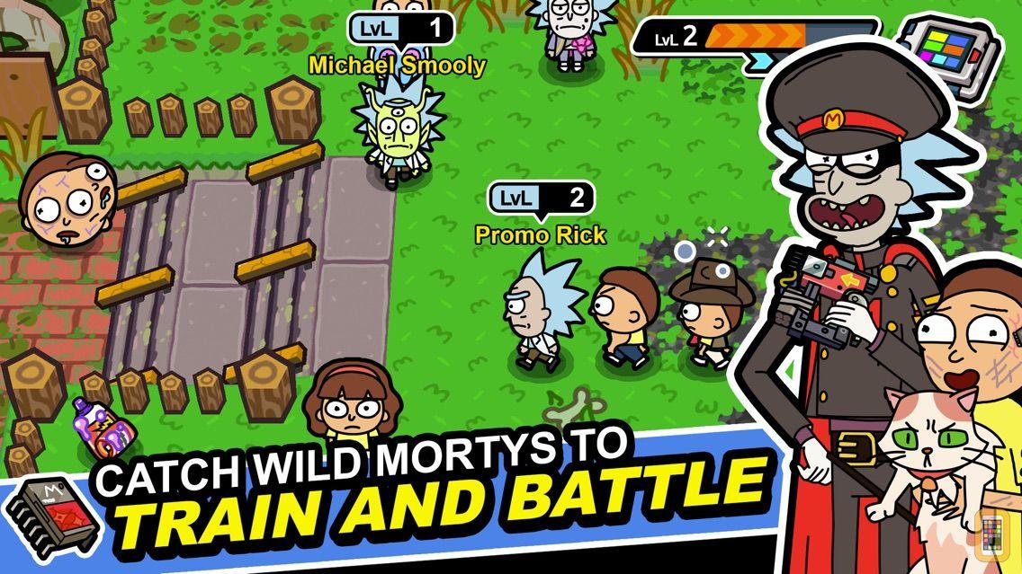 Screenshot - Rick and Morty: Pocket Mortys