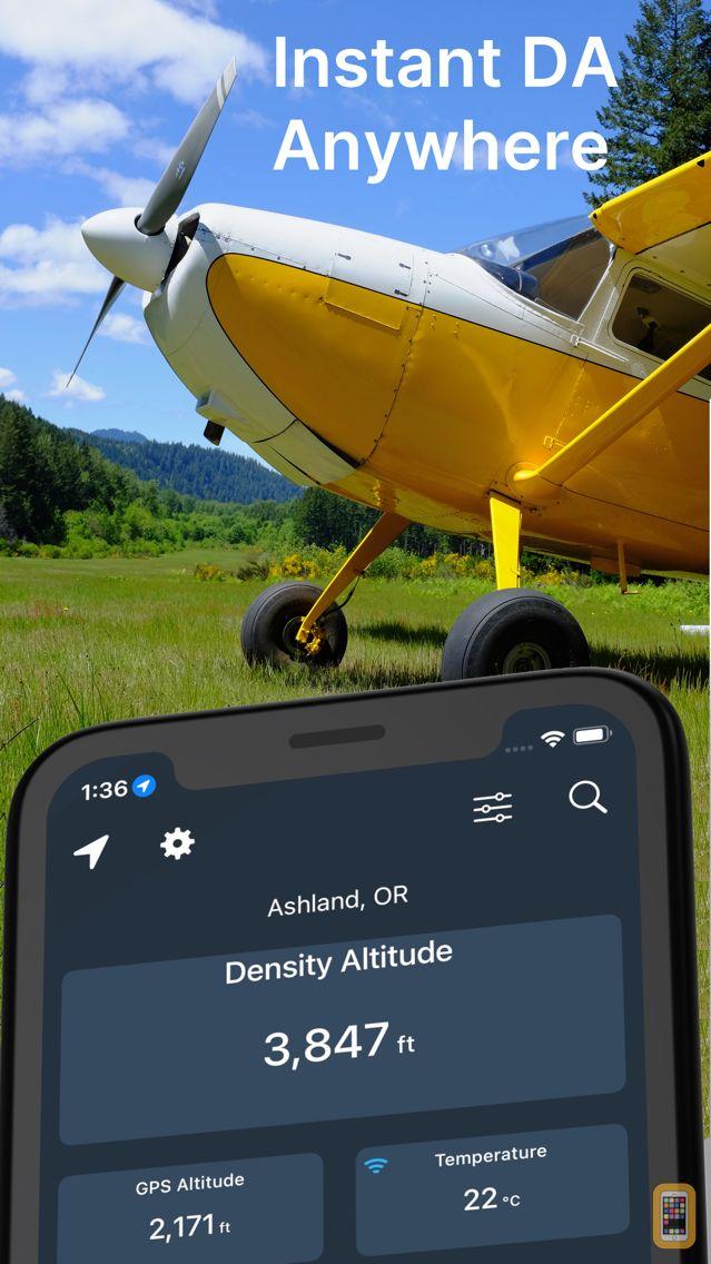 Screenshot - Density Altitude+