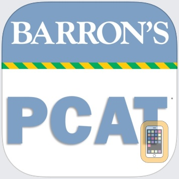 Barron's PCAT Exam Review Practice Questions by gWhiz, LLC (Universal)