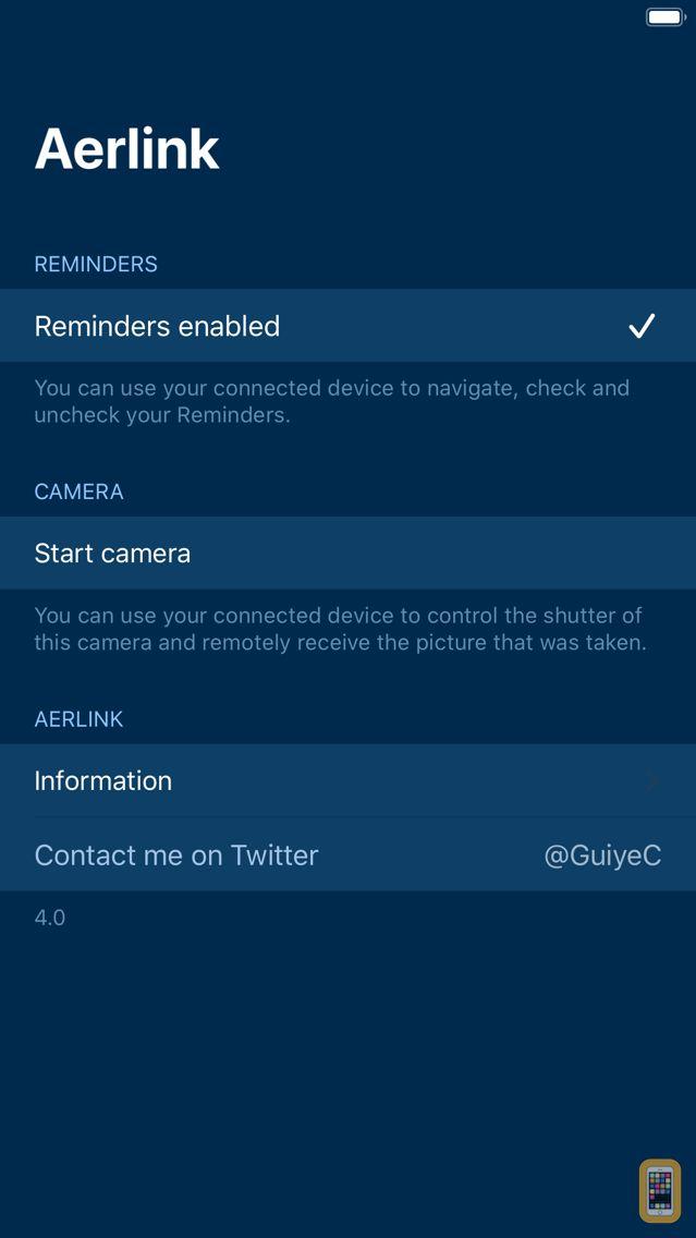 Screenshot - Aerlink