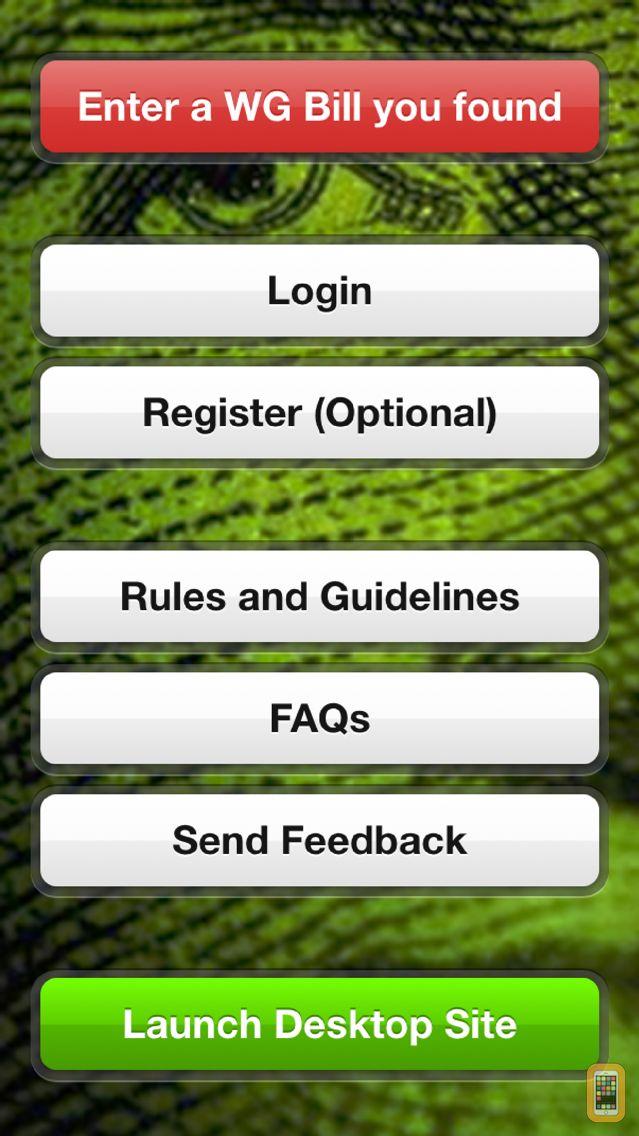 Screenshot - WheresGeorge.com Official App