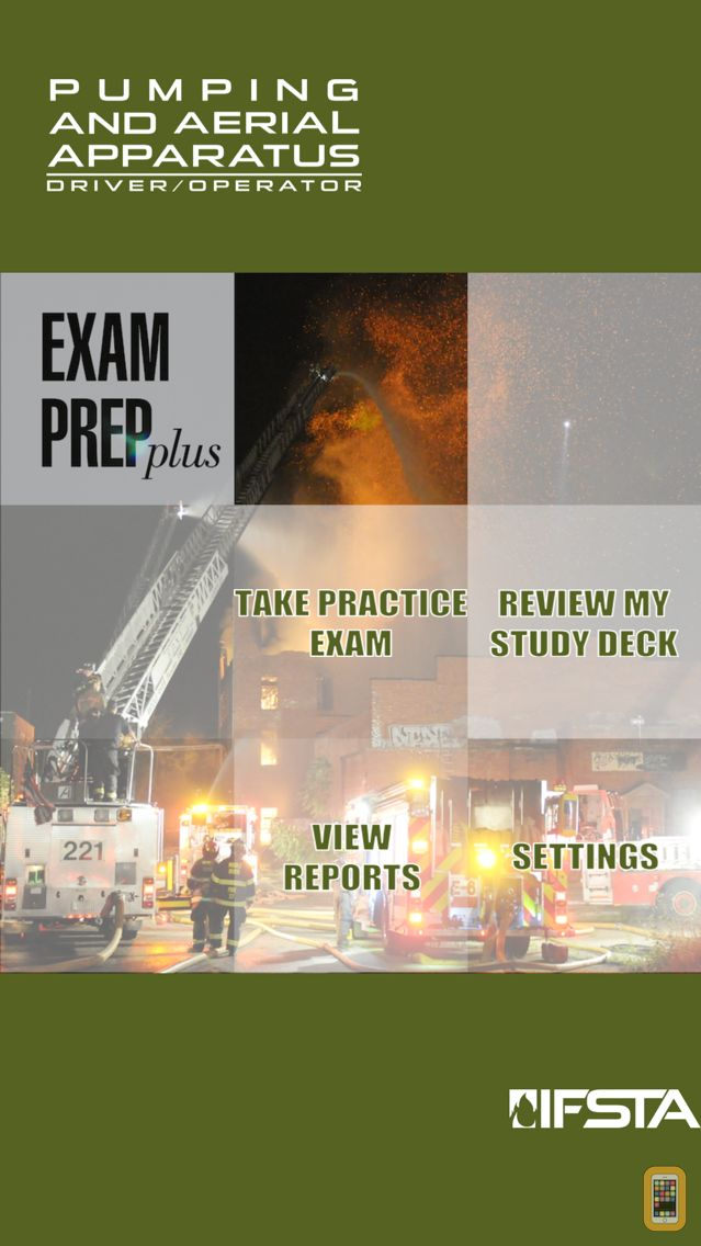 Screenshot - Pumping and Aerial Apparatus Driver Operator 3rd Edition Exam Prep Plus