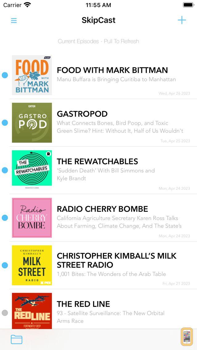 Screenshot - SkipCast: Podcast Player